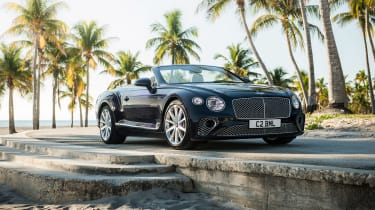 Bentley Continental GT Convertible V8 - front