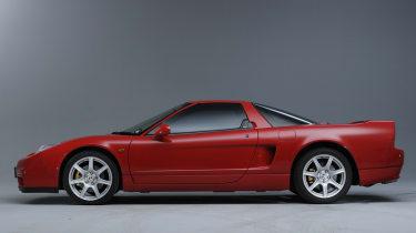 Honda NSX side profile