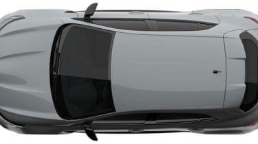 2018 Renault Sport Megane patent rendering - Plan