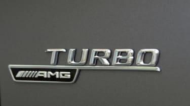 2013 Mercedes A45 AMG Turbo badge