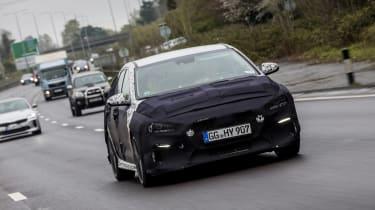 Hyundai i30 N prototype - front driving
