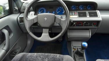 Renault Clio Williams interior