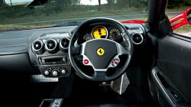 Ferrari F430 F1 interior