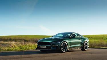 Ford Mustang Steve McQueen Bullitt Edition – front quarter static