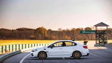 Subaru WRX STI S209 - profile