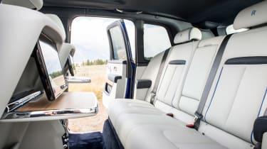 Rolls-Royce Cullinan seats