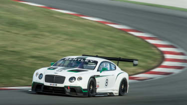 Bentley Continental GT3 front splitter