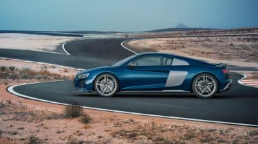 Audi R8 facelift - profile