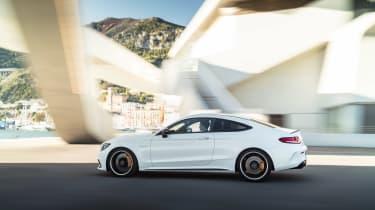 Mercedes-AMG C 63 S Coupe - white profile