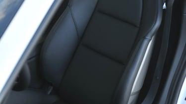 2013 Porsche Cayman S leather sports seat