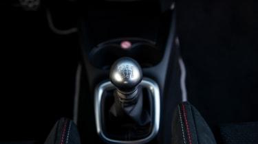 Toyota Yaris GRMN – gear lever