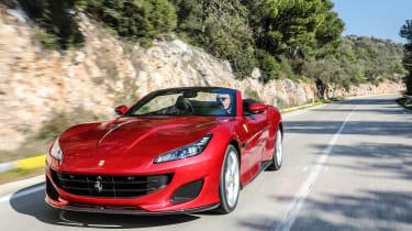 Ferrari Portofino - front quarter