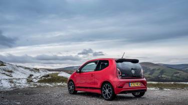 VW Up GTI - Rear