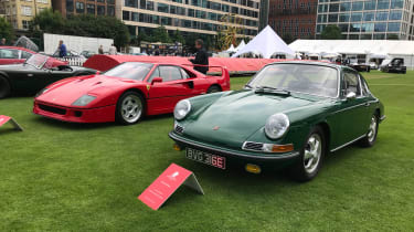 London Concours 2018 - F40