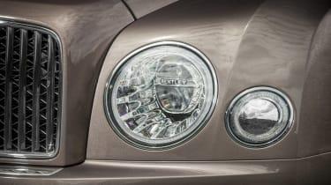 Bentley Mulsanne - headlights