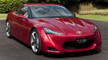 New Toyota coupe