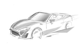 Toyota GT 86 convertible teased