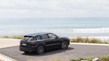 Porsche Cayenne E-Hybrid – rear quarter