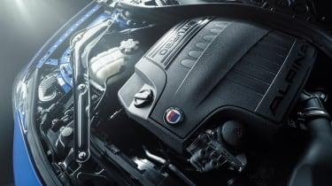 Alpina B4S engine