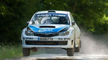 Group N Prodrive Subaru Impreza rally car