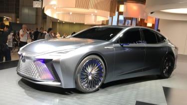 Lexus LS+ Concept – front quarter