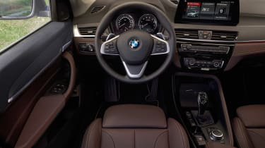 BMW X1 facelift 2019 - dash