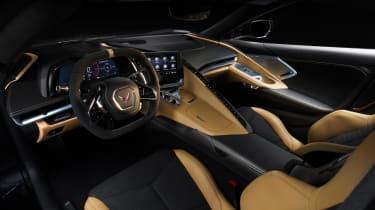 2020 Chevrolet Corvette C8 interior tan