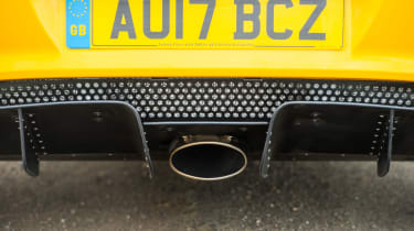 Lotus Elise Sprint 220 - Exhaust