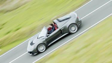 Lotus Exige S Roadster grey side profile