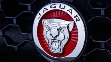 Jaguar F-type four-cylinder badge