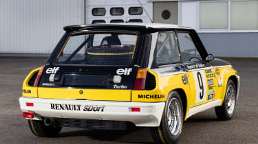 Renault 5 Turbo rally car rear