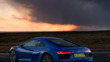 Audi R8 V10 RWS - Rear
