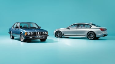 BMW 7-series (E23) and BMW 7-series (G12) 40 Jahre