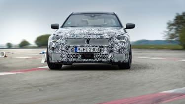 BMW M240i prototype – front cornering