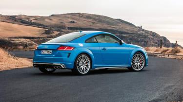 Audi TTS – rear quarter