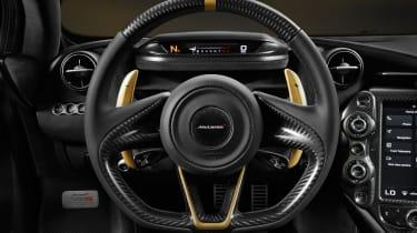 McLaren 720 S Dubai – steering wheel