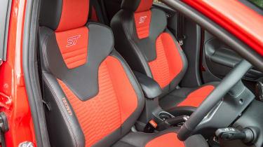 Ford Fiesta ST five-door - Seats