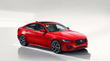 Jaguar XE facelift - front quarter
