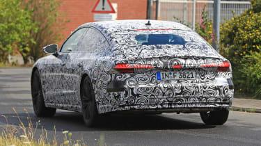 Audi A7 spied - rear 2