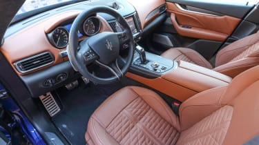 Maserati Levante Trofeo review - dash