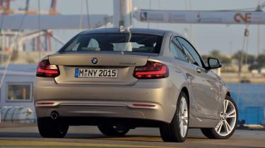 BMW 220d rear