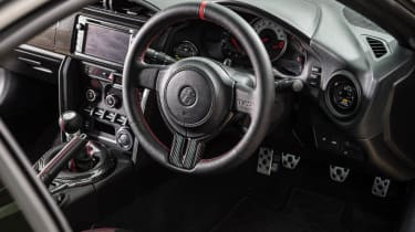 Toyota GT86 turbo Fensport interior