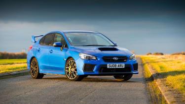 Subaru WRX Final Edition – front quarter