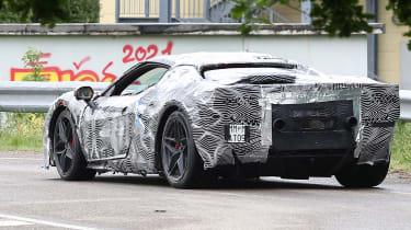 Ferrari F171 spy 2021 – rear