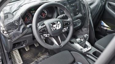 Hyundai i30 N prototype - interior