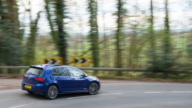 Volkswagen Golf R - rear cornering