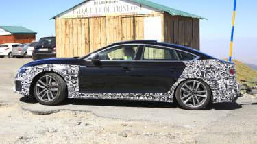 Audi A5 Sportback spy - side