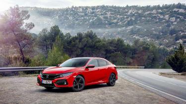 Honda Civic review - static