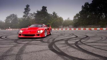 Ferrari F40 LM - static
