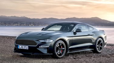 Ford Mustang Bullit front